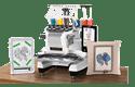 PR1050X профессиональная вышивальная машина 8
