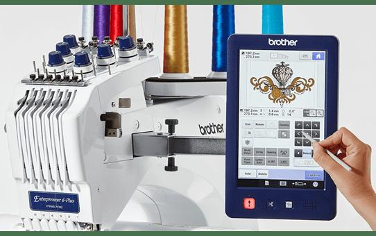 PR670E embroidery machine 3