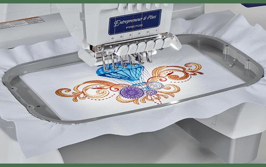 PR670E профессиональная вышивальная машина 5