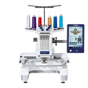 Semiprofessionelle 6-Nadel-Stickmaschine Entrepreneur PR670E