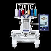 Entrepreneur PR670E 6-needle embroidery machine for semi-pro use