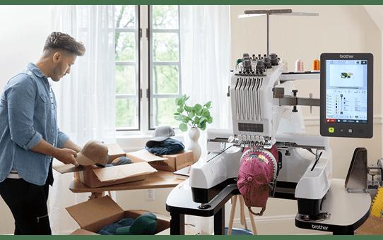 PR680W 6-Needle embroidery machine 3