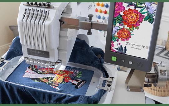 EntrepreneurWPR680W borduurmachine met 6 naalden 5