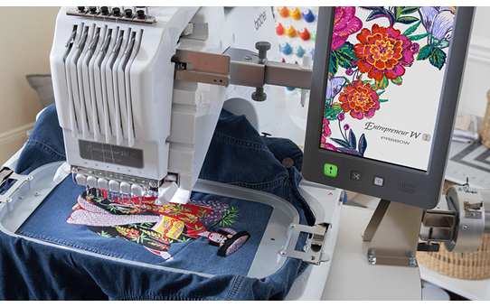 PR680W 6-Needle embroidery machine 5