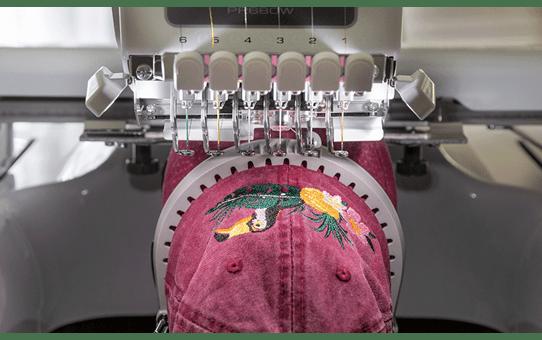 EntrepreneurWPR680W borduurmachine met 6 naalden 6