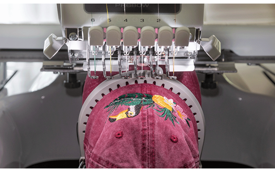 PR680W 6-Needle embroidery machine 6