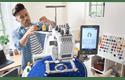 EntrepreneurWPR680W borduurmachine met 6 naalden 8