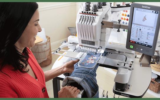 EntrepreneurWPR680W borduurmachine met 6 naalden 9