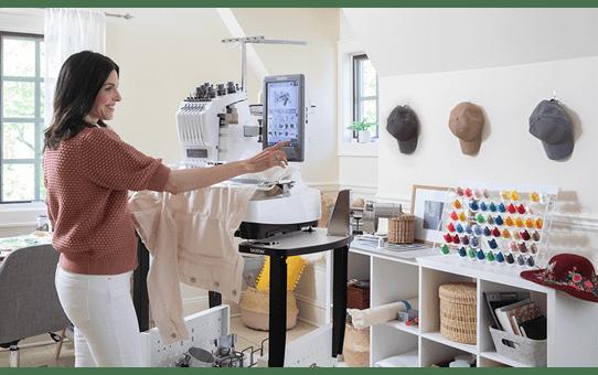 EntrepreneurWPR680W borduurmachine met 6 naalden 10