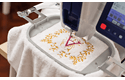 VR embroidery machine 8