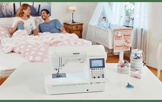 Innov-is F420  компьютеризованная швейная машина  7