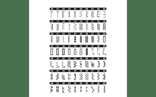 FS70E компьютеризованная швейная машина  11