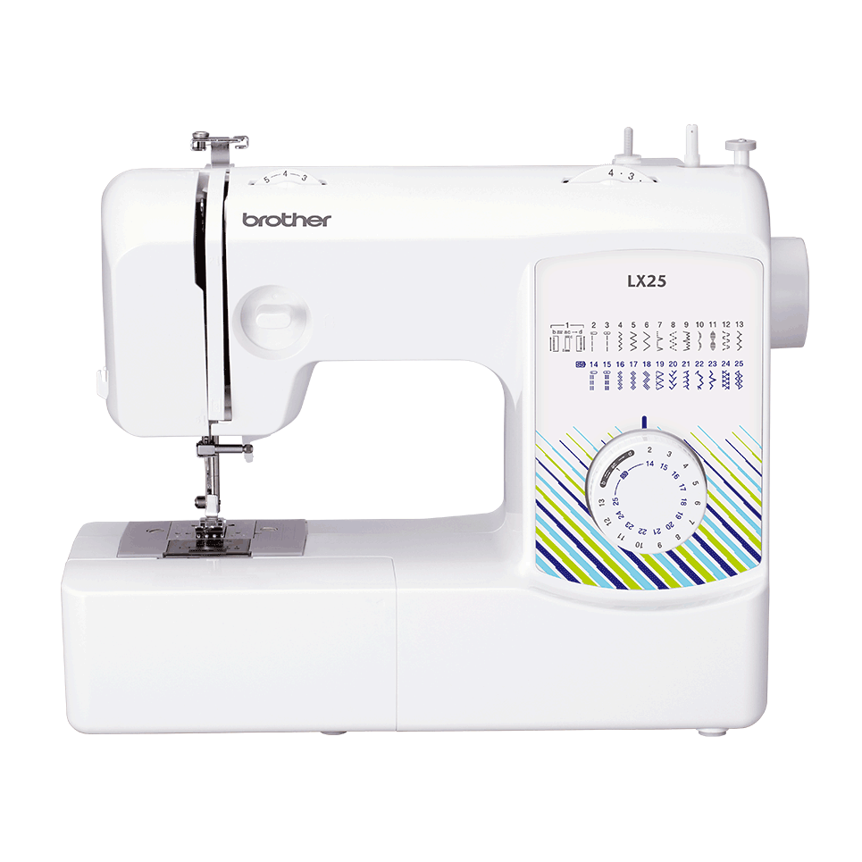 Brother LX25 mechanical sewing machine for beginners front view
