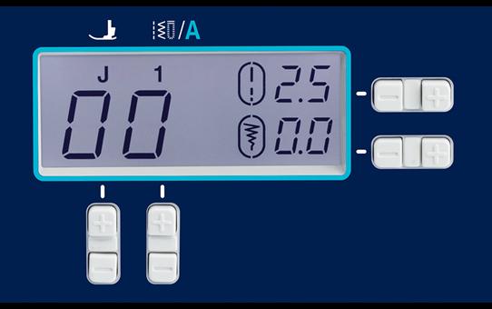 ModerN210e компьютеризованная швейная машина  6