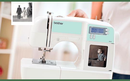 MS40 компьютеризованная швейная машина  7