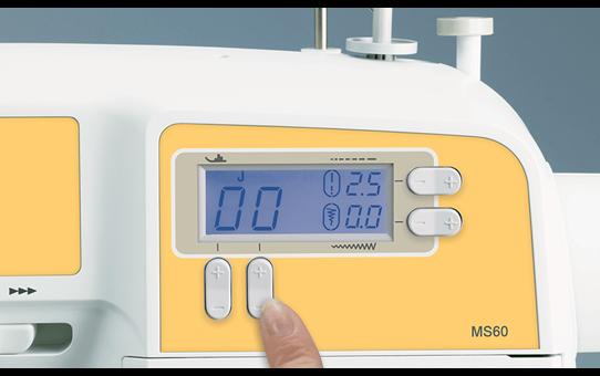 MS60 компьютеризованная швейная машина  3