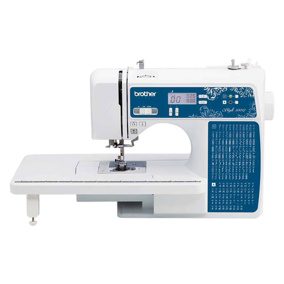 Компьютеризованная швейная машина Style 100Q вид спереди