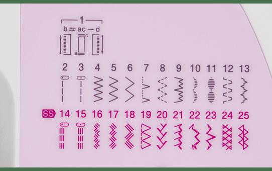 XN2500 Macchina per cucire 7