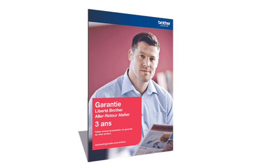 Extension Garantie Plus Liberté Brother - Aller-Retour Atelier - 3 ans - GLIB3ARC