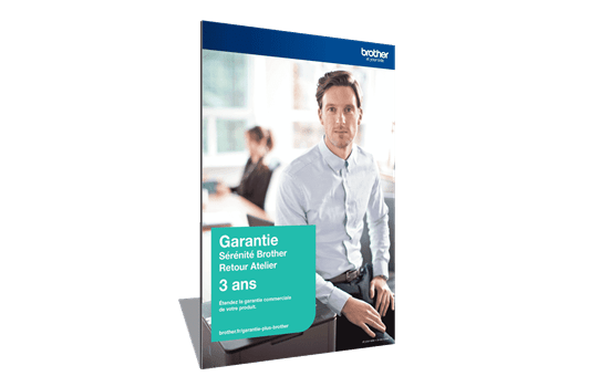 Extension Garantie Plus Sérénité Brother - Retour Atelier - 3 ans - GSER3RAA