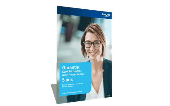 Extension Garantie Plus Sérénité Brother - Aller-Retour Atelier - 5 ans - GSER5ARA