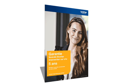 Extension Garantie Plus Sérénité Brother - Intervention sur site - 5 ans - GSER5ISE