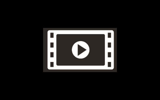 QL1110NWB etikettskriver for leveranseetiketter i bredt format med strekkoder 7