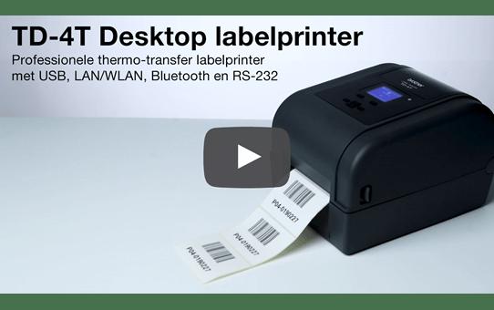 TD-4650TNWBR thermal transfer labelprinter 4 inch 6