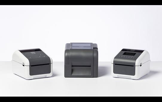 TD-4650TNWBR Imprimante d'étiquettes à transfert thermique 4 pouces 7