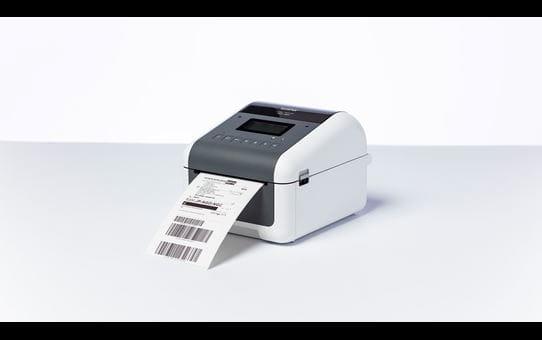 TD-4750TNWBR Imprimante d'étiquettes à transfert thermique 4 pouces 7