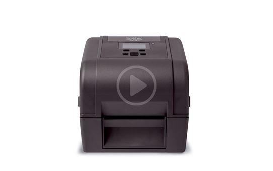 Brother TD-4750TNWBR stalinis etikečių spausdintuvas 6