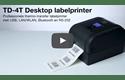 TD-4750TNWBR Professionele thermo-transfer labelprinter met bekabelde/draadloze netwerkverbinding en Bluetooth 6