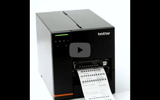Imprimante d'étiquettes industrielle Brother TJ-4020TN 5