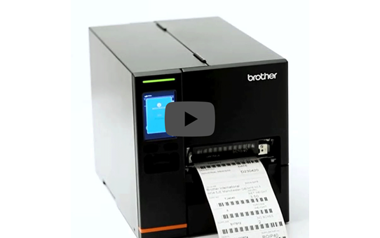 Brother TJ-4021TN Industrial Label Printer 5