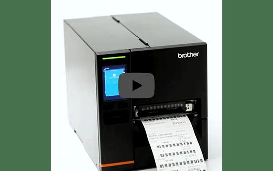TJ-4021TN Imprimante industrielle d'étiquettes à transfert thermique 5