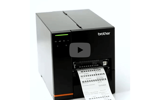 TJ-4120TN industriële thermal transfer labelprinter 4 inch 5