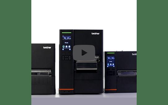 Brother TJ-4120TN Högupplöst etikettskrivare för industrin 5