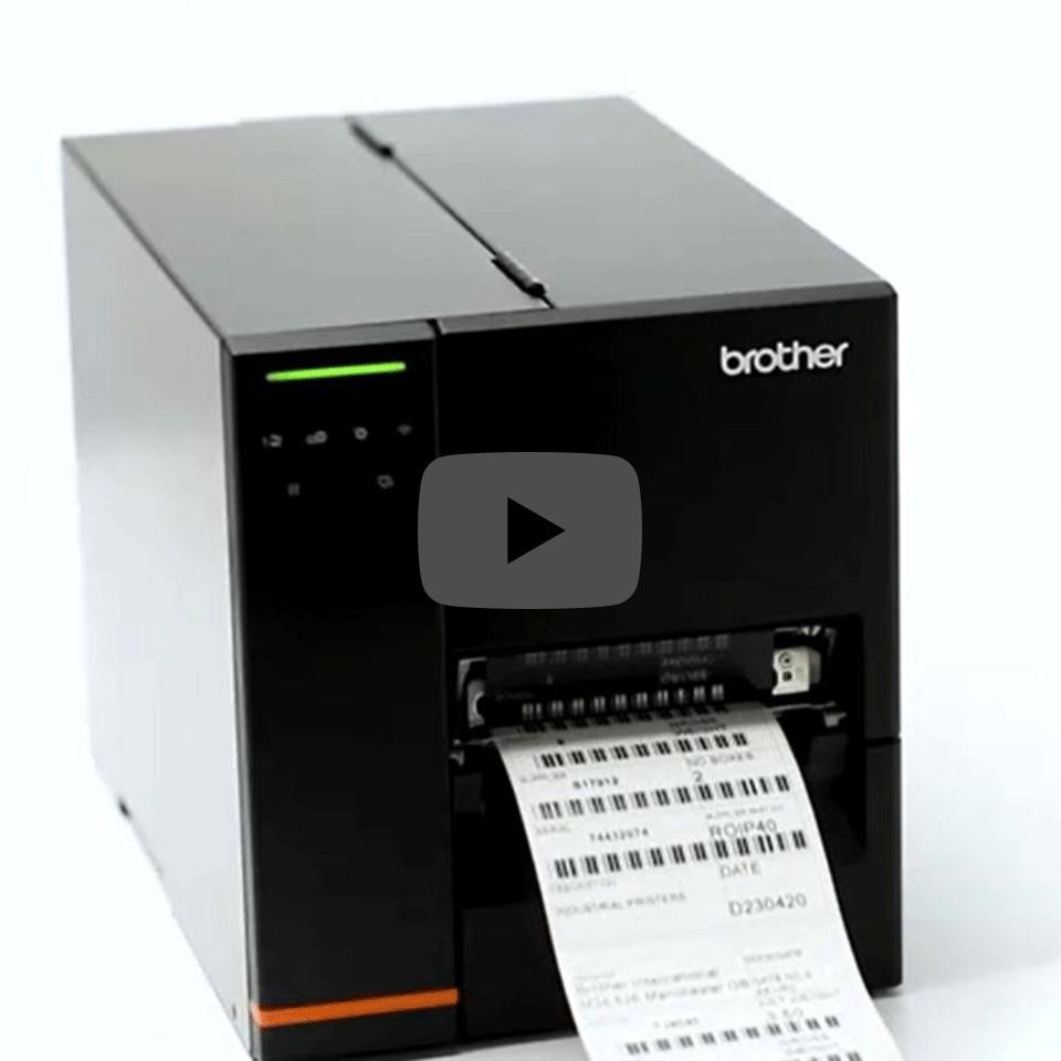 TJ-4121TN Industriële thermo-transfer labelprinter 5