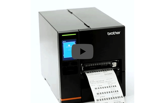 Brother TJ-4121TN Индустриален етикетен принтер 5