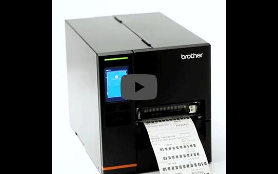 Imprimante d'étiquettes industrielle Brother TJ-4121TN 5