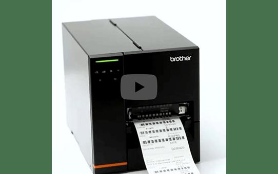 TJ-4121TN Imprimante industrielle d'étiquettes à transfert thermique 5