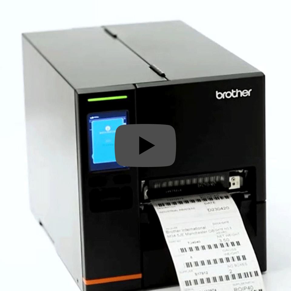 Brother TJ-4121TN industrijski tiskalnik nalepk 5