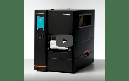 TJ-4422TN Industriële thermo-transfer labelprinter 6
