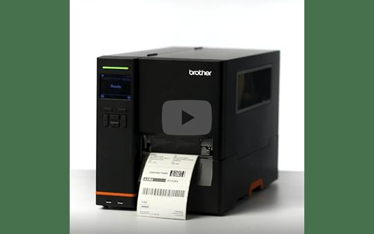 TJ-4520TN Imprimante industrielle d'étiquettes à transfert thermique 6