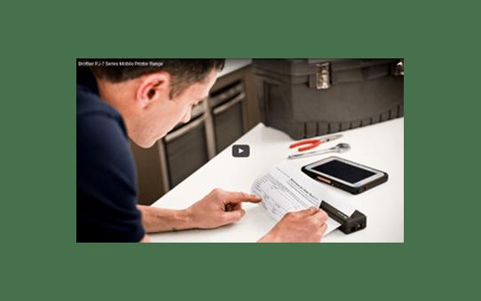 PJ-763MFi A4 Mobile Printer + Smartphone Enabled 4