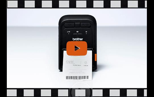 RJ-3035B draagbare thermische 3 inch printer + Bluetooth + NFC + iOS compatibel 6