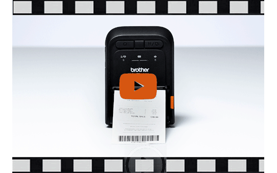 RJ-3035B petite imprimante portable thermique 3 pouces + Bluetooth + NFC + compatibilité iOS 6