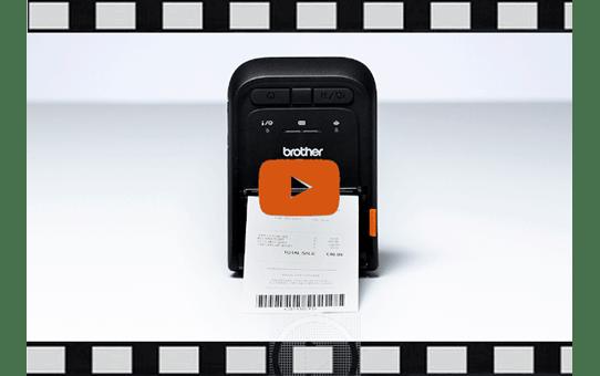 Imprimante de reçus et d'étiquettes mobile Brother RJ-3055WB 7