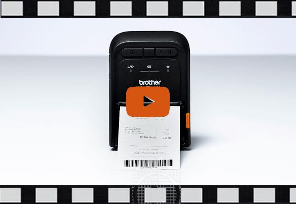 RJ-3055WB - mobil kvitterings- og labelprinter 7