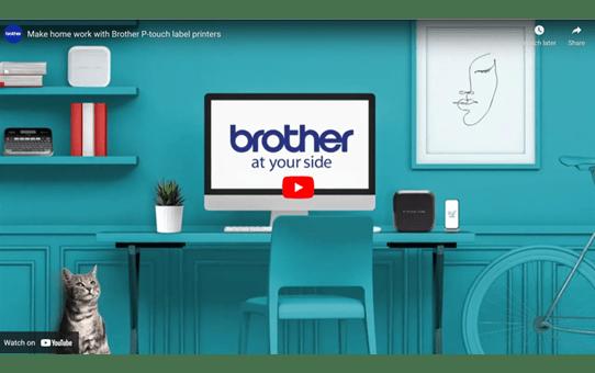 Brother PTD450VP merkemaskin 6